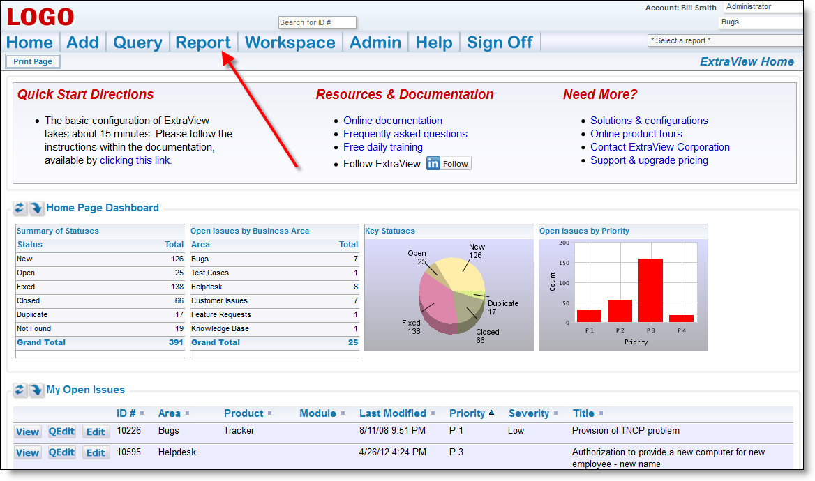 Creating Reports | Product Documentation